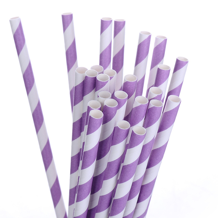 Acic Qian 2019 Hot Sales New Products Color Paper Sucker Environmentally Friendly Disposable Paper Straw Creative Customizable P