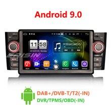 """Erisin ES7723L """" Android 9,0 Восьмиядерный 4 Гб ram автомобильный радиоприемник BT для Fiat Punto Linea"""