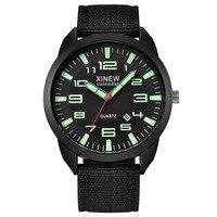 Vintage Männer Uhren Luxus Marke Outdoor Herren Datum Edelstahl Militär Sport Analog Quarz Armbanduhr Relógio Masculino