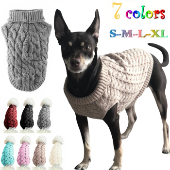 Special Pup- Wintertime Pet Sweater For Large And Small Dogs 1
