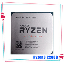 AMD Ryzen 3 2200G R3 2200G 3.5 GHz Quad-Core CPU Processor 65W YD2200C5M4MFB Socket AM4