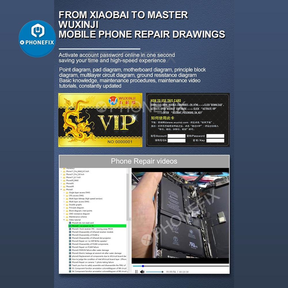 Ji Wuxinji Online Repair Motherboard Soldering Wu USB For Samsung Diagram Phone PCB Schematic Dongle Assistant Xin Fivestar
