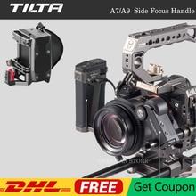 Tiltaing צד פוקוס ידית עבור Sony A7 A9 סדרת מצלמה כלוב צד כוח ידית עבור F550 F570 LP E6 F970 סוללה סוג III