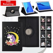 360 Degrees Rotating PU Leather Flip Stand Cover For Huawei MediaPad T3 10 9.6