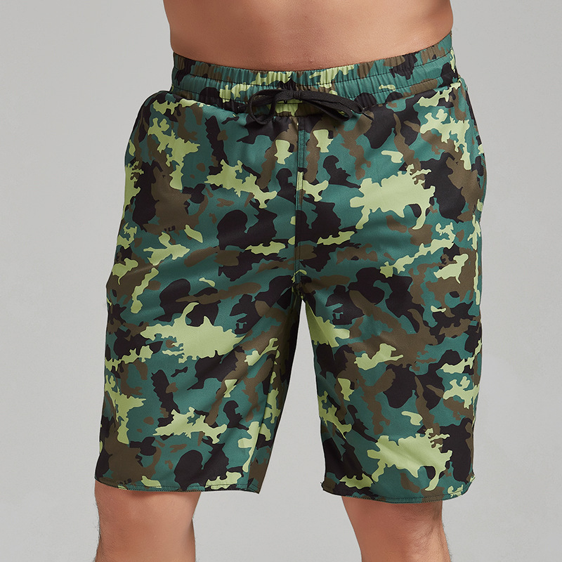 MEN'S Swimming Trunks Short Quick-Dry Beach Shorts Seaside Holiday Loose Casual Large Size Swimming Trunks Trend Youth Shorts