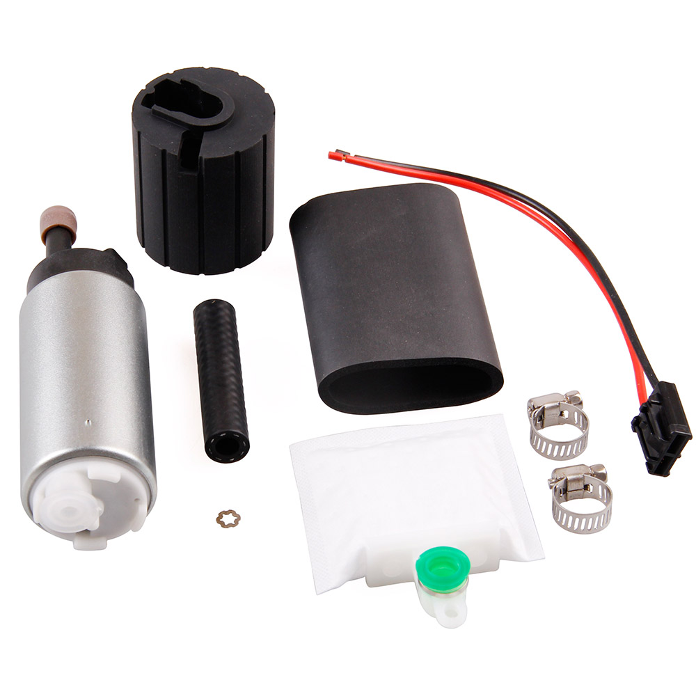 12V Car Electronic Fuel Pump Gss342 255LPH Modified Aluminum Alloy Auto Supply System Replacement Parts