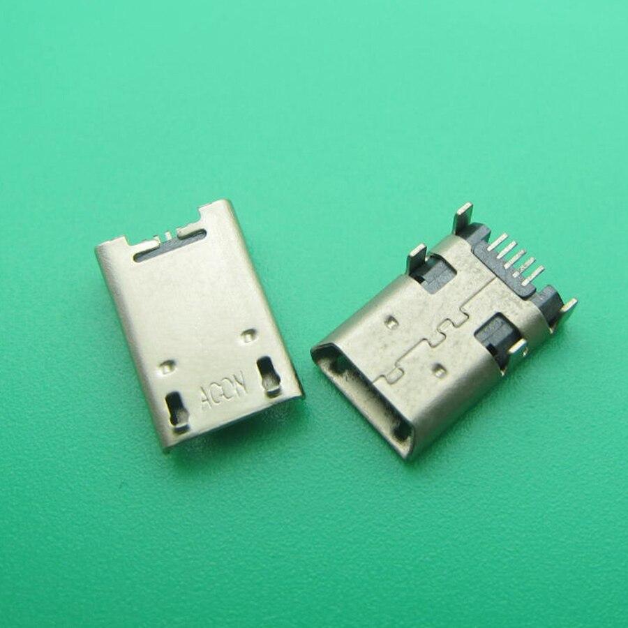 5pcs Tablet Micro USB Jack For ASUS MeMO Pad 10 ME102A ME372 ME301 K00E ME302 ME180 ME102 K00F ME301T K00f Micro USB Connector