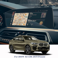 Auto Styling GPS Navigation Bildschirm Film Für BMW X6 G06 2019 Präsentieren Dashboard Bildschirm Film Niedrigen/Hohe Mach zubehör Aufkleber