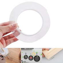 Magic Double-sided Grip Tape Traceless Washable Adhesive Gel Nano Invisible 1/2/3/5m
