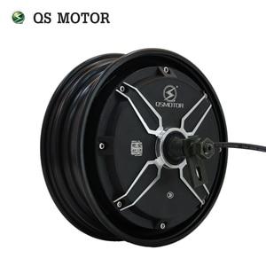QS Motor 10inch 2000W 205 50H V2 48V/60V/72V 55KPH Brushless DC Electric Scooter Hub Motor