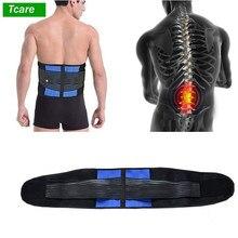 Lumbar volver soporte, Cinturón de sujeción-Espalda masaje para aliviar los dolores banda hernia de disco, ciática y escoliosis para los hombres y las mujeres