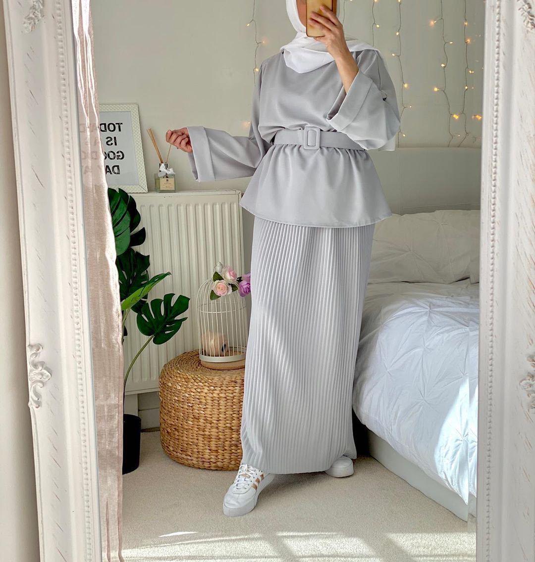 Ramadan Muslim Sets Hijab Dress Dubai Abaya Turkey Abayas for Women Turkish 2 Pieces Skirt Set Aid Moubarak Islam Robe Longue
