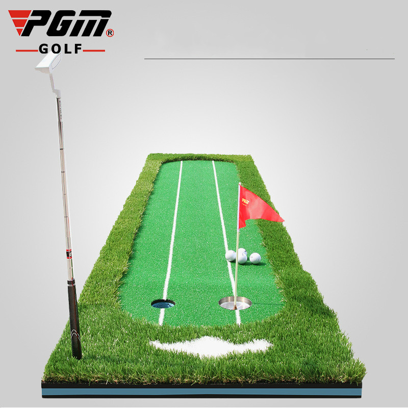 PGM Green Golf Push Driver Golf Practice Green Indoor And Outdoor Putting Practice 0.75*3m GL009