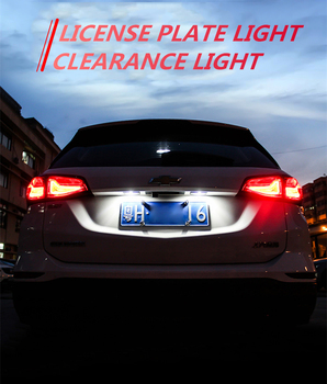 2x Canbus T10 W5W LED Car Clearance Parking Light No Error For BMW E46 E39 E90 E60 E36 F30 F10 E30 E34 X5 E53 M F20 X3 E87 X6 image