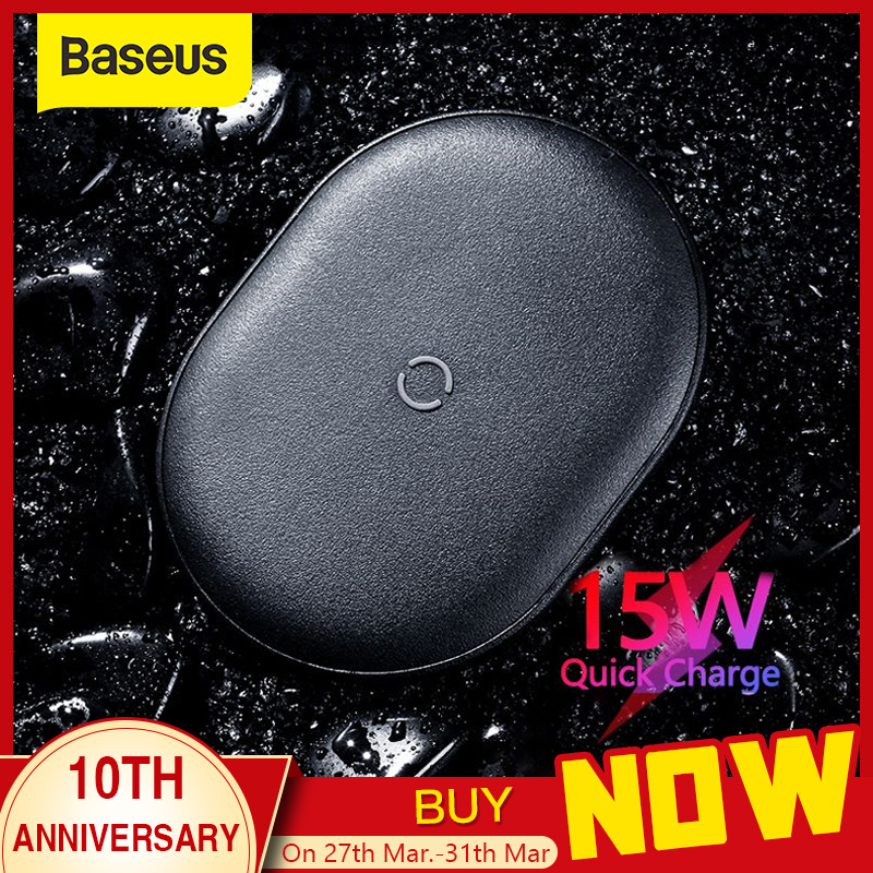 Baseus 15W Qi Wireless Charger For IPhone 11 Pro X XS MAX XR 8 Plus Fast Charging For Airpods Pro Samsung S9 S10 S20 P20 P30 Pro