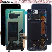 Per Samsung Galaxy S10 e LCD G970F/DS G970U G970W SM G9700 Display con cornice Dello Schermo di Tocco Digitizer Per SAMSUNG s10e lcd