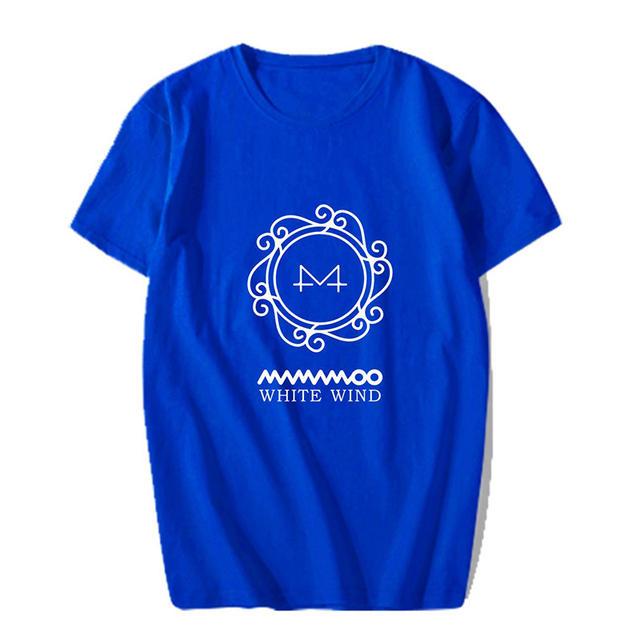 MAMAMOO WHITE WIND T-SHIRT (7 VARIAN)