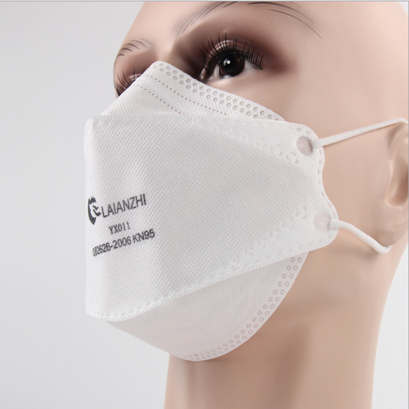 KN95-YX011 Fish type KN95 mask 95% filter antibacterial N95 mask dustproof PPE protective mask face mask FFP2 dust particles 3