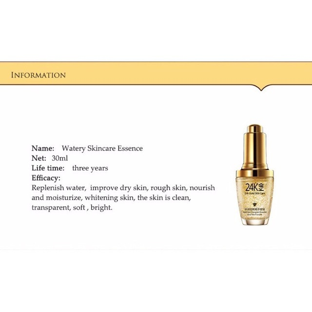 woman BIOAQUA 24K Gold Whitening  1