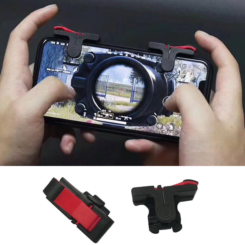 D9 Mobile Game Gamepad Trigger Joystick Fire Button Controller For PUBG Handle