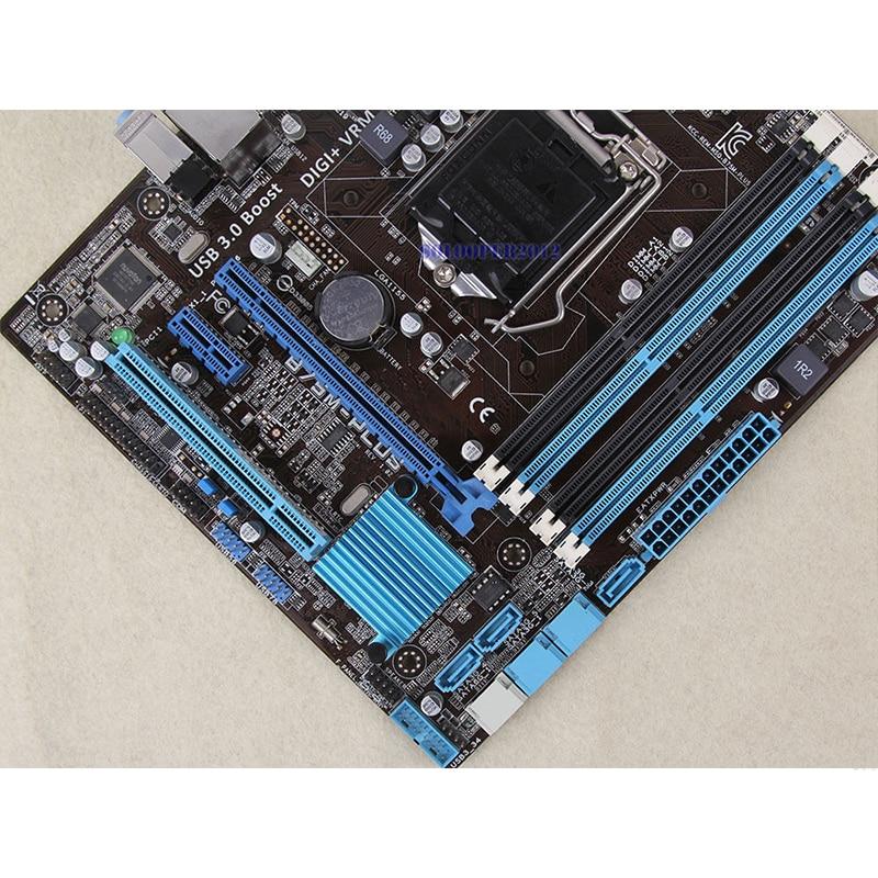 For ASUS B75M-PLUS Desktop motherboard MB B75 LGA 1155 micro ATX DDR3 32GB SATA3.0 USB3.0 100% fully Tested Free shipping 5