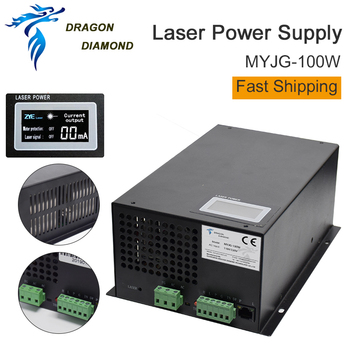 цена на Dragon Diamond 100W Co2 Laser Power Supply For Co2 Laser Engraving And Cutting Machine MYJG Laser Power Supplies Series