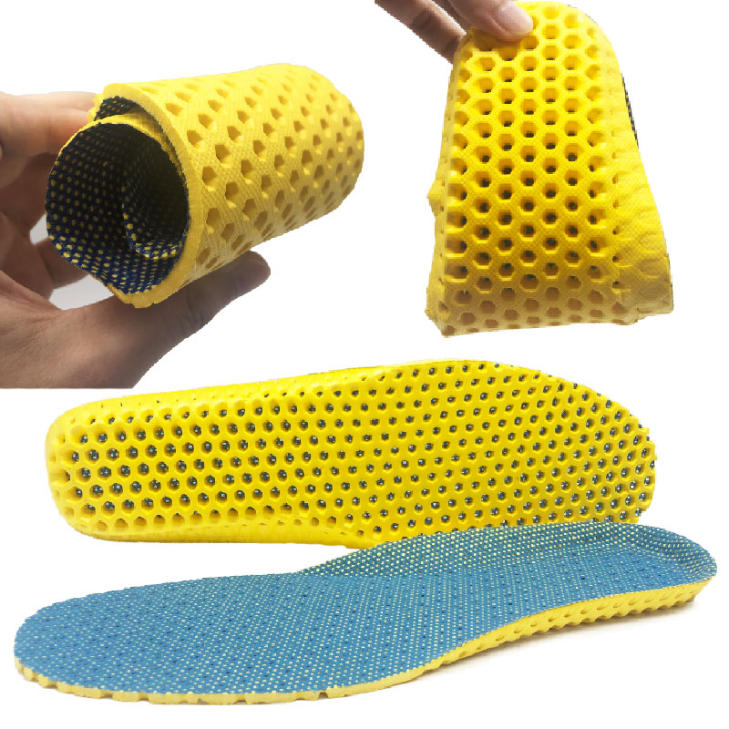 Mesh Breathable Stretch Deodorant Running Cushion Insoles For Feet  Man Women Insoles For Shoes Sole Orthopedic Pad Memory Foam