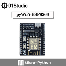 01 estúdio pywifi-esp8266 desenvolvimento demo placa embutida micropython iot wifi programação módulo sem fio pyboard