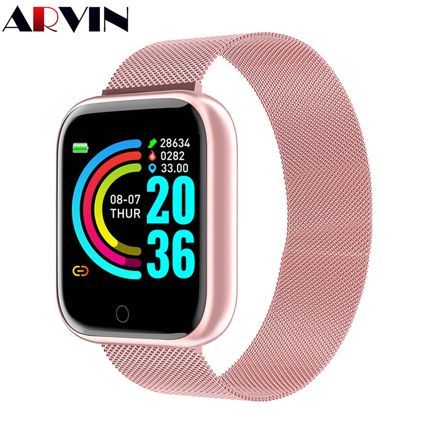 Smart Watch Women Men Sport Bluetooth Smart Band Heart Rate Monitor Blood Pressure Fitness Tracker Bracelet for Android IOS
