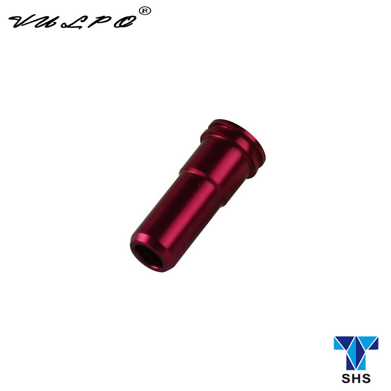 VULPO SHS CNC Aluminum Double O Ring Air Seal Nozzle For M4/M16 Series Airsoft AEG Hunting Accessories