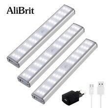 D50 AliBrit LED Under Cabinet Light PIR Motion Sensor Lamp 1