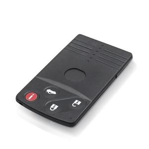 Image 2 - KEYYOU için 4 düğmeler Mazda 5 6 CX 7 CX 9 RX8 Miata MX5 2004 2005 2006 2007 2008 2009 yedek akıllı kart uzaktan anahtar kabuk