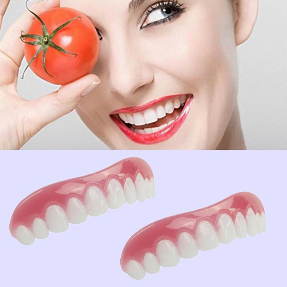 Teeth Whitening Perfect Smile Comfort Teeth Top Tooth Cosmetic Veneer One Size Suitable For All