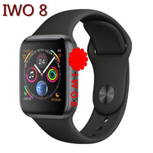 SZMDC IWO 8 44mm Watch 4 Heart Rate Smart Watch case for apple iPhone Android phone IWO 5 6 9 upgrade NOT apple watch