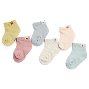 1 Pair Infant Baby Ankle Socks Baby Socks for Girls Cotton Cute Newborn Boy Toddler Socks Baby Clothes Accessories image