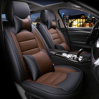 Eco leather auto seats covers PU Leather Car Seat Covers for Toyota INNOVA MR2 PREMIO Toyota CAMRY COROLLA LEVIN VIOS FS YAR