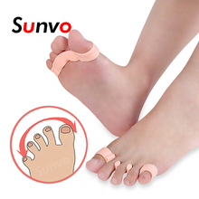 Sunvo Hallux Valgus Orthotics Bunion Splint for Separate All Toe Big Bone Orthopedic Foot Hammer Corrector Separator Inserts Pad