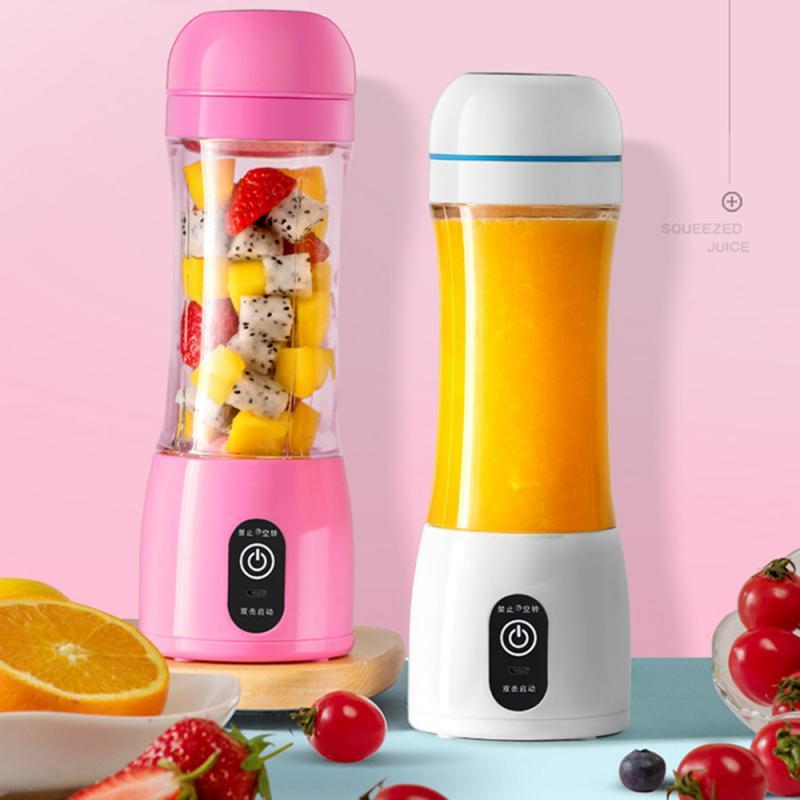 400ml şarj edilebilir taşınabilir sıkacağı 6 bıçak limon sebze meyve Smoothie sıkacağı Mini meyve suyu fincanı elektrikli meyve sıkacağı Dropship
