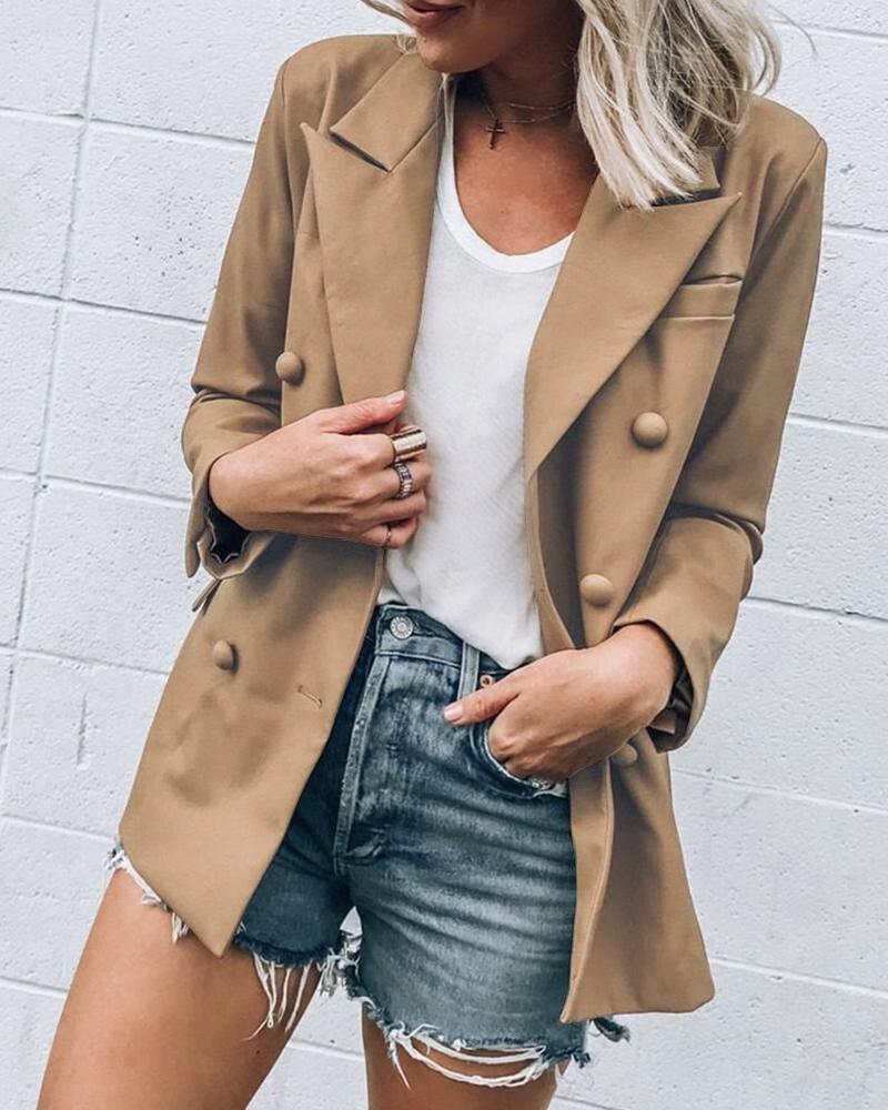 Hirigin Women Slim Casual Business Blazer Suit Work Jacket Long Sleeve Coat Outwear Tops