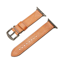 цена на leather strap for apple watch band 44mm 40mm 42mm 38mm watchband for iwatch series 5 4 3 2 1 Genuine leather loop bracelet belt