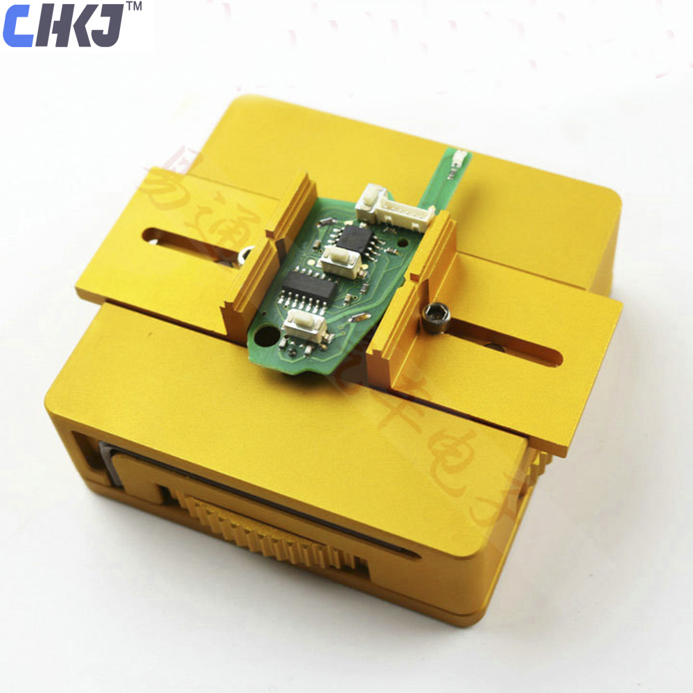 CHKJ Car Remote Controls Key Circuit Boards Clamp Fixture Repair Locksmith Tools For All Lock Keys Clips Board Clamping 0-10cm