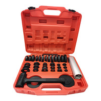 37PC Tool Set Elastic Hammer for Sealed Bearing Mounting Kit Oil Seal Installation Tools Bearing Removal