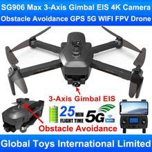 Zlrc besta 3 sg906 max com desvio de obstáculos 3-axis cardan eis profissional 4k câmera gps 5g wifi fpv rc zangão quadcopter brinquedos