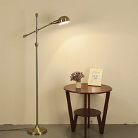 Lamp can be adjusted to restore the living room of the bedroom floor  Nordic minimalist creative bedside table lamp Postage free