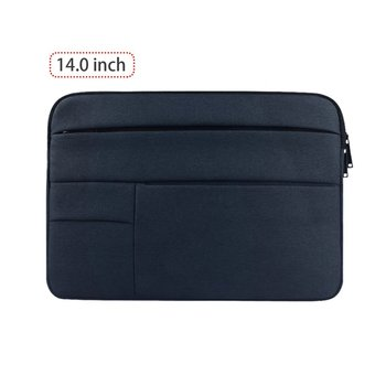 цена на Waterproof Computer Bag Multifunctional Computer Sleeve Computer Case Solid Computer Cover Velvet Lining For Notebook