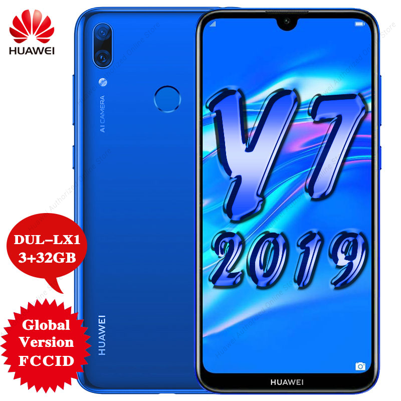 HUAWEI Snapdragon 450 Y7 Global-Version 32gb WCDMA/GSM/LTE Octa Core Fingerprint Recognition/face Recognition