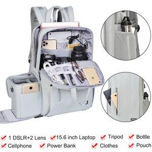Image 3 - Máy ảnh Caden đựng máy ảnh DSLR Chống nước Ba lô đeo vai Laptop máy ảnh kỹ thuật số & ống kính chụp ảnh hành lý túi dành cho Máy Ảnh Canon Nikon