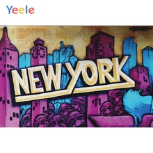 Yeele Party Photocall New York City Carnival Decors Photography Backdrops Personalized Photographic Backgrounds For Photo Studio цена