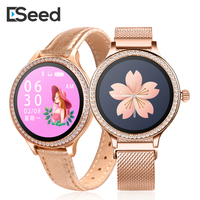 ESSEED M8 Women smart watch IP68 Waterproof Lady Smart Band Heart Rate Monitor Fitness Tracker Bracelet smartwatch android ios