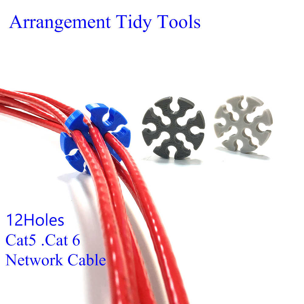 Network Cable Management Comb Tools Wire Network Module Arrangement Tidy Tools For Computer Room Studio Manage Cat6 Cables Aliexpress